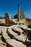 Ruins at the Sanctuary of Apollon Ylatis, Cyprus Stock Photos