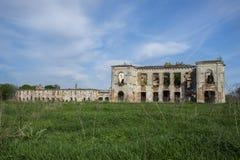 Ruins of Sanguszko Palace Stock Photos