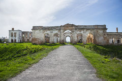 Ruins of Sanguszko Palace Royalty Free Stock Images