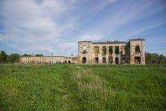 Ruins of Sanguszko Palace Royalty Free Stock Photos