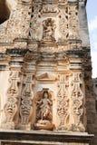 Ruins of Santa Clara convent at Antigua Stock Images