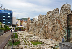 Ruins in Sarajevo Royalty Free Stock Photography