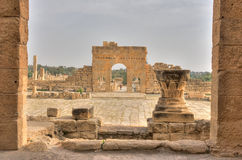 Ruins of Sbeitla Royalty Free Stock Photos