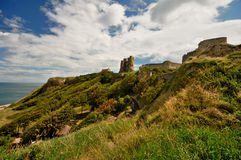 Ruins of Scarborough Castle Stock Photography