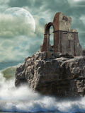 Ruins in the sea