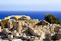 Ruins by the sea Royalty Free Stock Photo