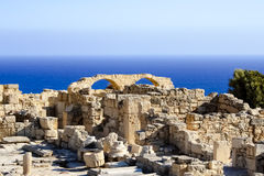 Ruins by the sea Stock Images