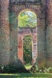 Ruins of Sheldon Church Yemassee South Carolina Stock Photography