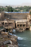 Ruins in Shushtar Royalty Free Stock Photography
