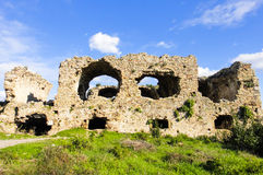 Ruins of Side. Turkey. Asia Minor Stock Images