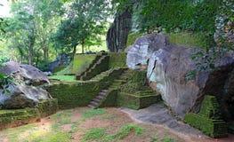Ruins of Sigiriya castle Stock Photo