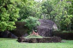 Ruins of Sigiriya Citadel Royalty Free Stock Images