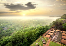 Ruins on Sigiriya Royalty Free Stock Images