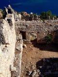 Ruins of Simena Royalty Free Stock Photography