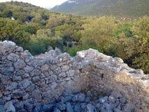 Ruins of Simena Stock Image