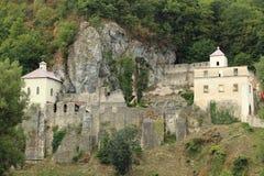 Ruins of Skalka abbey Stock Photo