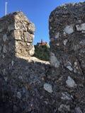 Ruins, Sky, Wall, Rock Stock Image
