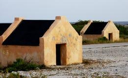 Slave Hut ruins on the Island of Bonaire. Ruins of Slave Huts on the island of Bonaire royalty free stock photos