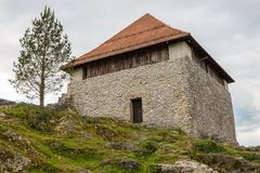 The ruins of the Small Castle in Kamnik, Royalty Free Stock Photo
