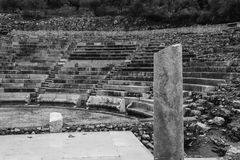 Ruins of small Epidavros Theater Stock Photos