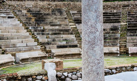 Ruins of small Epidavros Theater Stock Image