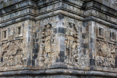 Ruins of the small Pawon temple complex Stock Photography