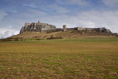 Ruins of Spiš castle in Slovakia Stock Photo