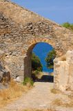 Ruins of Spinalonga 5 Royalty Free Stock Image