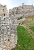 The ruins of Spis Castle, Slovakia Royalty Free Stock Image