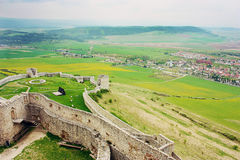 Ruins of Spiss Castle, Slovakia Royalty Free Stock Images