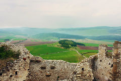 Ruins of Spiss Castle, Slovakia Stock Photos