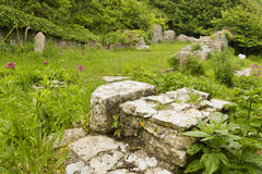 Ruins of St Andrew�s Church, Portland, UK. Stock Image