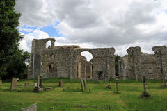 Ruins of St Andrew`s Church, Walberswick Royalty Free Stock Image