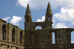 Ruins of St. Andrews Royalty Free Stock Images