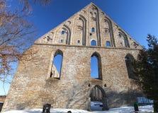 Ruins of St. Brigitta convent Stock Photography