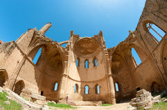 Ruins of the St George of the Greeks Church. Famagusta, Cyprus Royalty Free Stock Image