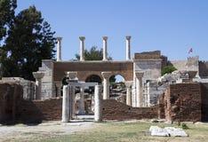 Ruins of st. Johns Stock Photos