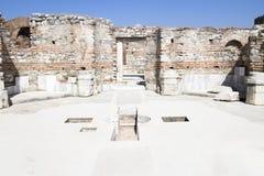 Ruins of st. Johns Basilica Royalty Free Stock Photo