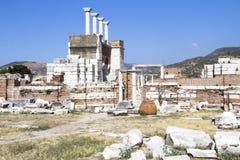 Ruins of st. Johns Basilica Royalty Free Stock Photography