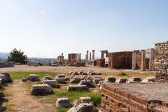 Ruins of St Johns Basilica Royalty Free Stock Image