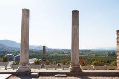 Ruins of St Johns Basilica Stock Photo