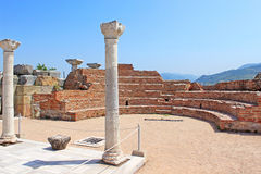 Ruins of st. Johns Basilica, Selcuk, Ephesus, Royalty Free Stock Image