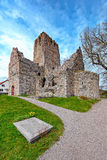 Ruins of St. Olof's Church in Sigtuna Stock Photography