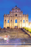 Ruins of St. Paul Royalty Free Stock Image