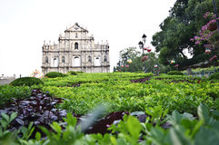 Ruins of St. Paul's Church, Macao Royalty Free Stock Images