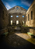 Ruins of St Raphael Church Interior Royalty Free Stock Photo