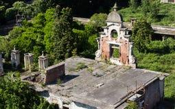 Ruins stables de montel Stock Photography