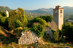 Ruins of Stari Bar, Montenegro Stock Photo