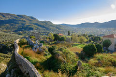 Ruins of Stari Grad Bar in Montenegro Stock Photos