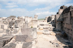 Ruins in Susita national park Royalty Free Stock Photography